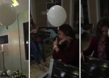 O mistério do video do balão no velório
