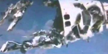 O ônibus espacial Columbia foi destruído por um Ufo?