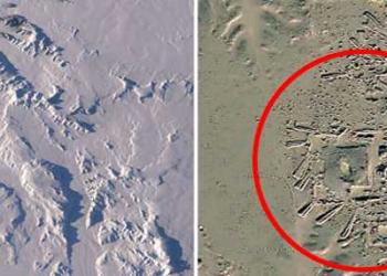 Ruínas de uma civilização perdida são descobertas em 2,3 km abaixo do gelo na Antártida