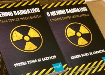 Sorteio do livro: O menino Radioativo e outros contos inacreditáveis