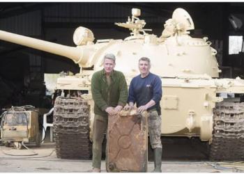 Dia de sorte gump: Sujeito encontra barras de ouro no tanque de um… Tanque
