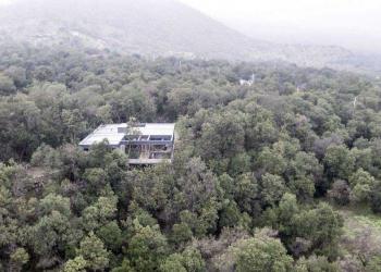 Uma bela casa nas montanhas do Chile