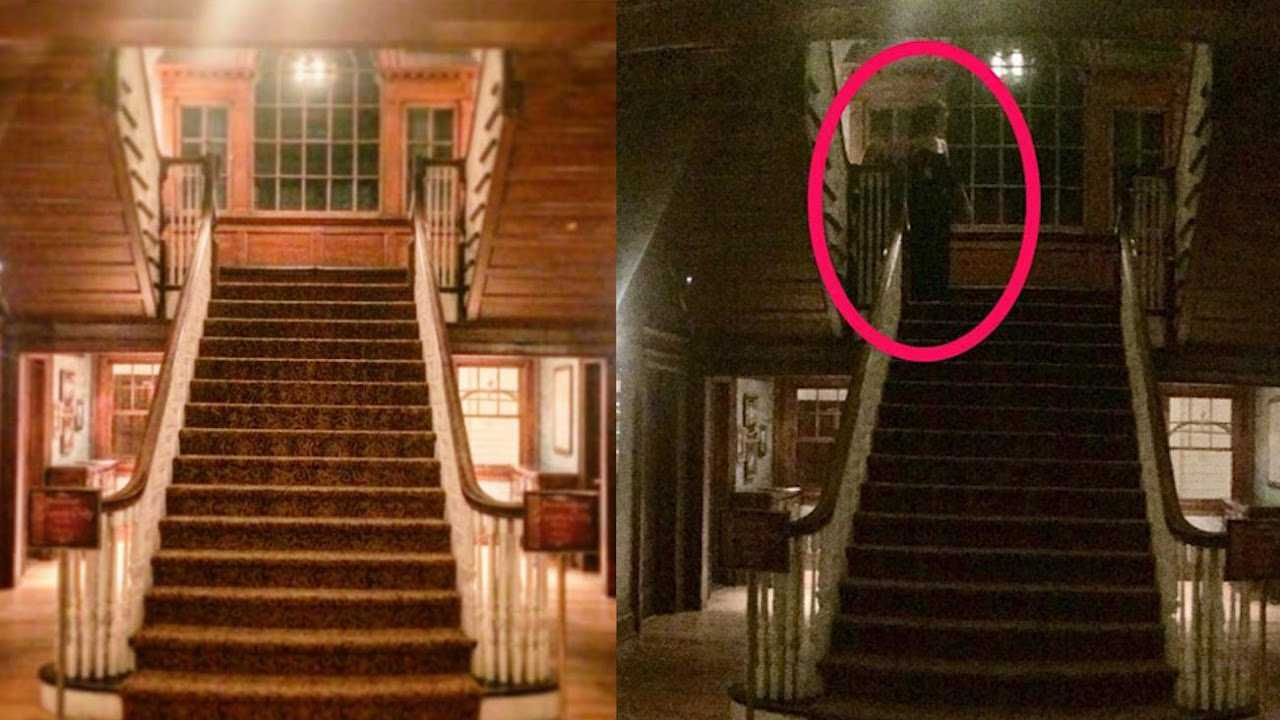 Espectro misterioso é registrado por câmera de segurança