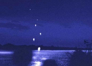 Foto gump do dia: Naga Fireballs – As esferas luminosas