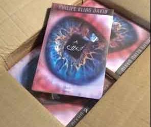 O livro chegou!