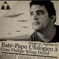 Bate papo ufológico no podcast Hangar18