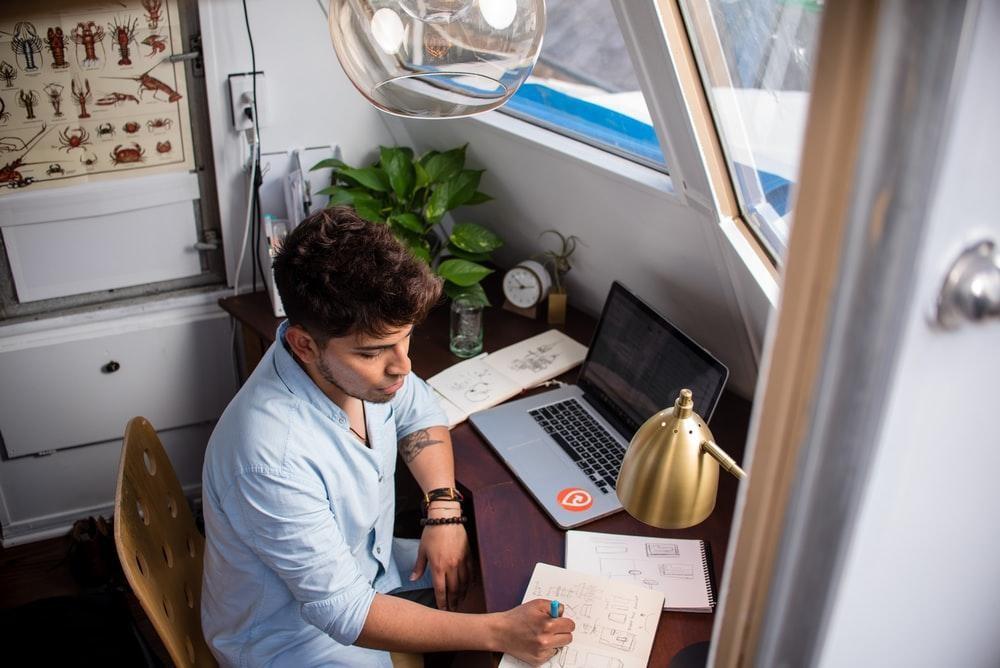 Um bom Home office é orientado para o prazer de trabalhar