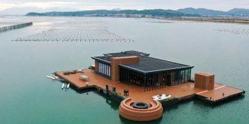 Conheça a mansão flutuante de 600 metros quadrados de um empreendedor chinês