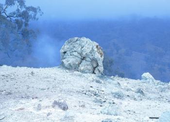 Conheça o bloco de carvão que está queimando há 6000 anos!