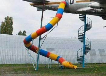 Foto gump do dia: Playground profissional!