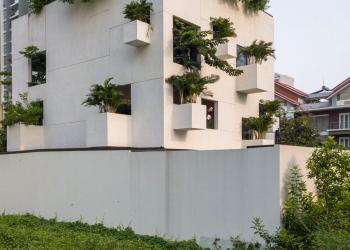 A curiosa casa-cubo do Vietnã