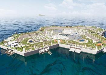 Pra quem pode: Blue State, venha morar numa  Ilha artificial