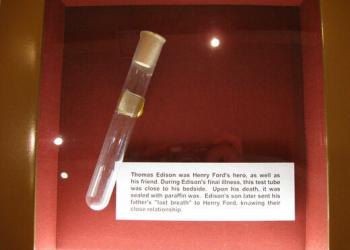 Bizarro: O último suspiro de Thomas Edison