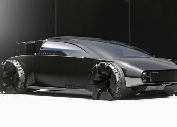 O Conceitual Honda HR-X Delsol funde o vintage com o moderno