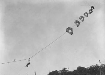 Profissão: Piloto de cafifa – Pipas foram pilotadas na primeira Guerra Mundial