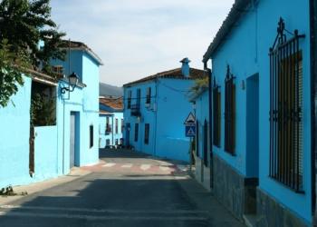 Foto gump do dia: A cidade azul