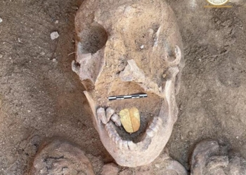 A múmia da língua de ouro