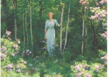 A arte de Charles Courtney Curran