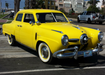 Sonho: Studebaker amarelo