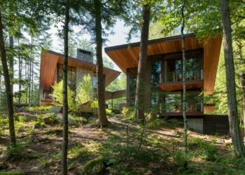 Residência de campo na floresta: Mais uma casa para inspirar