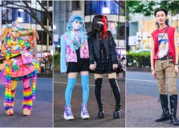 A moda nas ruas de Tóquio