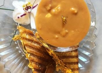 O sanduíche de queijo-quente mais caro que seu dinheiro pode comprar
