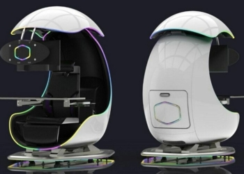 Pra quem pode: Conheça ORB -X o Gamepod imersivo da Cooler Master