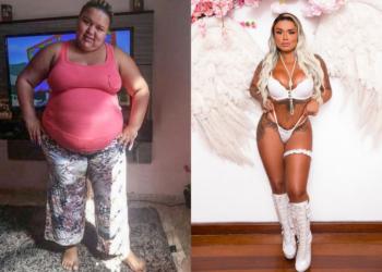 Antes e depois: A incrível transformação de Monalisa Moura