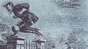"""Horror em Londres: A bizarra história do """"Jack dos saltos de molas"""""""